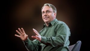 Linus Torvalds, February 2016